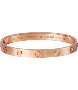 Cartier Love Bracelet - Rose Gold