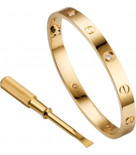 Cartier Love Bracelet Diamonds