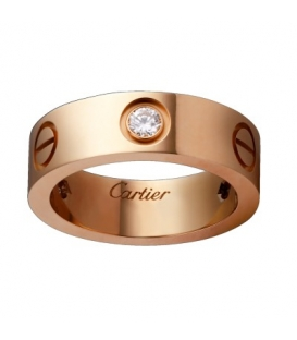 Cartier Love Ring Rose Gold