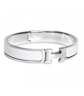 Hermes Click H White Silver