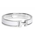 Hermes Click H White Silver