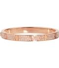 Cartier Love Bracelet - Full Diamonds Rose Gold