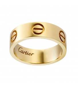 Cartier Love Ring Gold Unisex