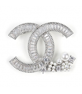 Chanel Brooch Silver