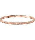 Cartier Love Bracelet - Slim Full Diamonds Rose Gold