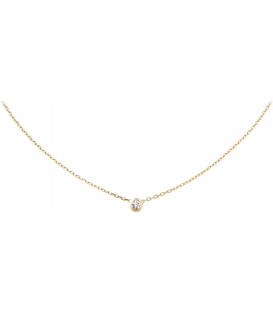 Cartier Diamants Legers Necklace Gold
