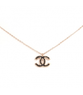 Chanel Necklace Rose Gold