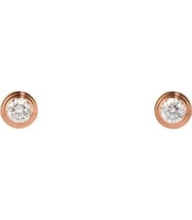 Cercei Cartier Diamonds Legers Rose Gold