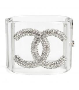 Chanel Cuff Bracelet Strass
