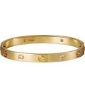 Bratara Cartier Love - Diamonds Gold