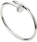 Bratara Cartier Juste Un Clou - Diamonds Silver