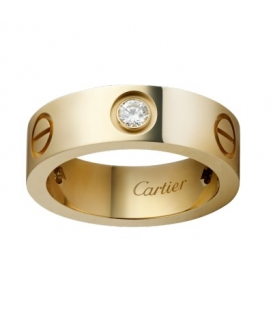 Cartier Love Ring Gold