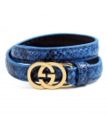 Bratara Gucci Leather Blue