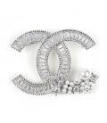 Brosa Chanel Silver
