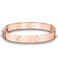 Louis Vuitton Nanogram Cuff Bracelet - Rose Gold