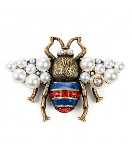 Gucci Brooch Bee Pearls