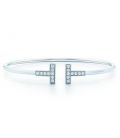 Tiffany & Co. T Wire Silver