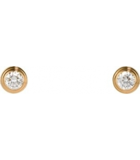 Cercei Cartier Diamants Legers - Gold