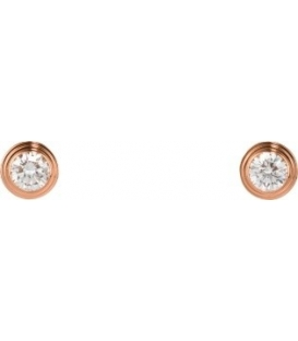 Cercei Cartier Diamants Legers - Rose Gold