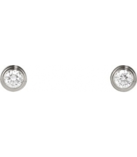 Cercei Cartier Diamants Legers - Silver