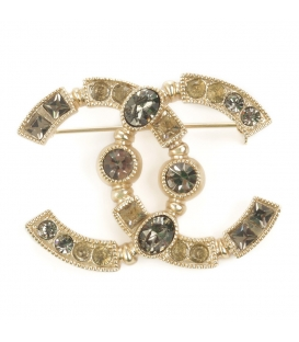 Chanel Brooch Rhinestone