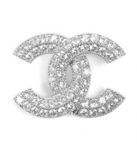 Chanel Brooch Crystals