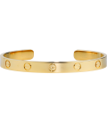 Bratara Cartier Love - Adjustable Gold