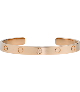 Cartier Love Adjustable Bracelet - Rose Gold