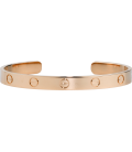 Bratara Cartier Love - Adjustable Rose Gold