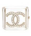 Bratara Chanel Cuff Pearls
