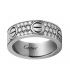 Inel Cartier Love - Full Diamonds Silver