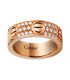 Inel Cartier Love - Full Diamonds Rose Gold