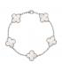 Bratara Van Cleef & Arpels Alhambra Silver