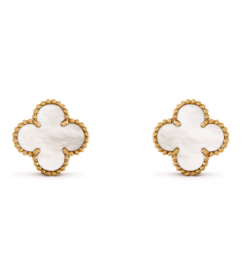 Cercei Van Cleef & Arpels Alhambra Gold