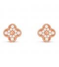 Cercei Van Cleef & Arpels Alhambra Vintage Rose Gold