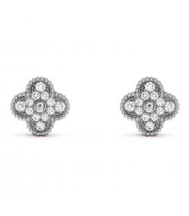 Cercei Van Cleef & Arpels Alhambra Vintage Silver