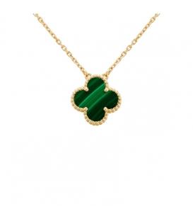 Colier Van Cleef & Arpels Alhambra Gold Green